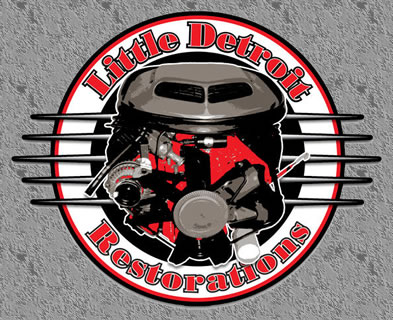 Little Detroit Motor Logo